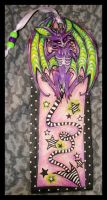 Squeekbat Bookmark by IceandSnow