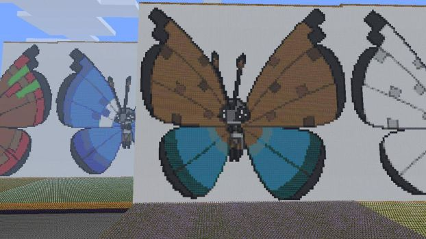 666.12 Vivillon River Pattern by Electryonemoongoddes