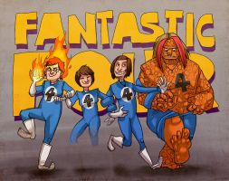 fantastic4 by tattiOsala