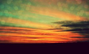 Oklahoma Sunset by Tann-Renae
