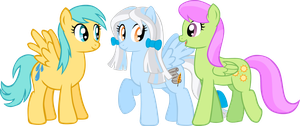 PC - Three Pegasi by LudiculousPegasus