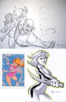 Comicon sketches by RyanOttley