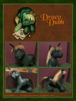 Draco Dubh Custom Pony by Draco-McWherter