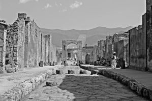 #2 Streets Of Pompeji by Melgriffey