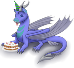 Birthday Cake by Hearts-and-Hooves