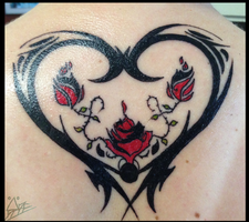 Meaningful Mother-Daughter Tattoo [My tattoo] by Herobrineing