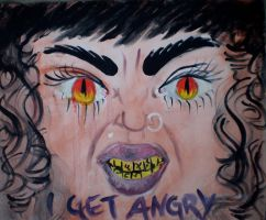 angry self portrait by 8270037
