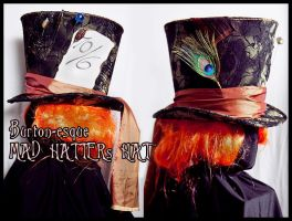 Mad Hatter's Hat 02 by Elemental-Sight