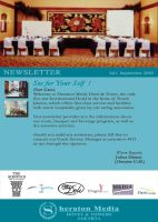 Sheraton Hotel Newsletter by kevinandy
