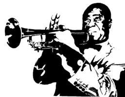 Louis Armstrong by RinpaIvo