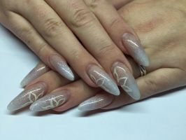 Practice wedding nails by inimini