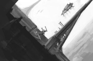 Value Painting - Towering by ZacharyHogan