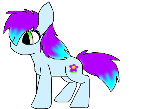 Pony Adoptable 1 =Flower cutiemark= by CammysAdoptables