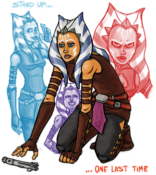 Clone Wars: One Last Time by sparkyHERO