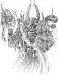 Ahriman of the thousand sons by DeVmarine