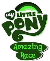 My Little Amazing Race Logo (Modified MLP Logo) by phin-the-pie