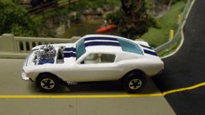Custom Mustang Fastback by hankypanky68