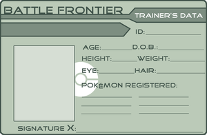 BLANK FRONTIER CARD by GriffSGirl