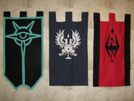 My three banners. by Jakhajay