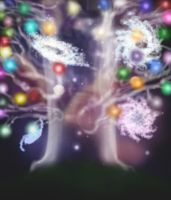 The Tree of Worlds by FieldsOfFire