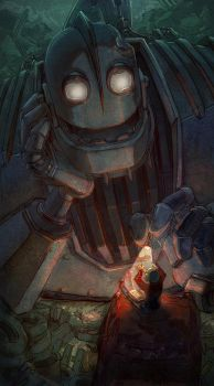 Iron Giant by arashicat
