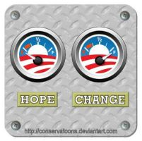 Hope and Change Guages by Conservatoons
