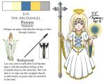 Lux the Archangel by Ninja-Luminey
