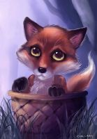 Baby Fox by Evolvana
