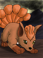 Vulpix by Arbre