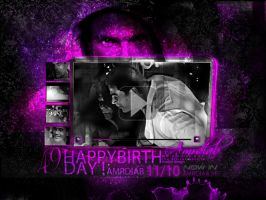 HAPPY B-DAY AMR DIAB by madexdesigns