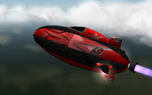 Racer blimps Red 62 by caboose11l2