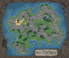 Final Fantasy 9- Mist Continent by MSHumenko