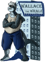 Shark Week, Day 5 - Wallace the Whale (shark) by vgfm