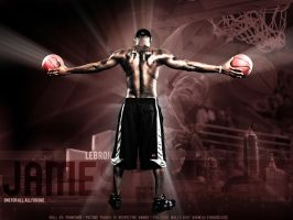 Lebron James by Franchise24
