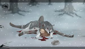 Blood on the snow by NatalieDeCorsair