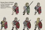Principate + Middle Imperial Roman Heavy Infantry by foojer