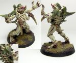 Hive Fleet Abomination lord by cbomb13