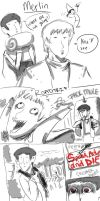 The Adventures of Merlin by gingitsune-chan