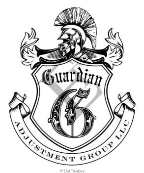 Guardian Adjusters Logo Line Art by TrueLovePrevails