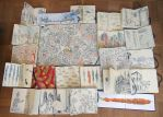 used sketchbooks by MattiasA