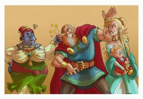 Asgardian snapshots: I raised you better than this by Iulie-O