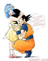 DBZ PS - Talking Tummy by Icecry