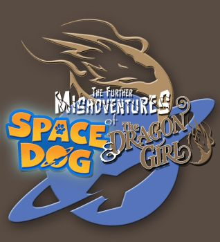 Space Dog and the Dragon Girl - Logo by Katase6626