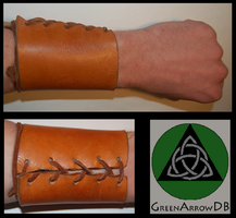 Old Stuff 3 - Leather Bracer by GreenArrowDB