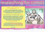 Researching for Comics Tutorial (preview) by shingworks