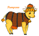 Gourdian Contest Entry 1: Pumpcow by Mama-Tama