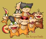 Traditional Koopalings by DrewGreen