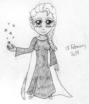 Elsa Frozen by PerkyLilja