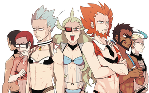 Sexy Bad Guys by Ssalbug