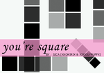 You're Square Brushes PS by girlinabox